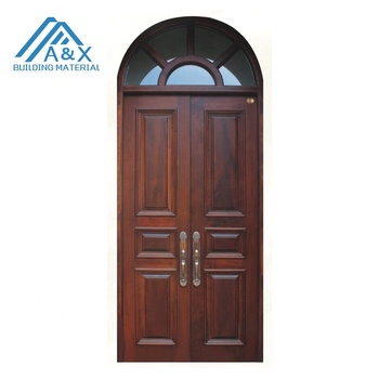 Top Arch Spanish Style Wood Door