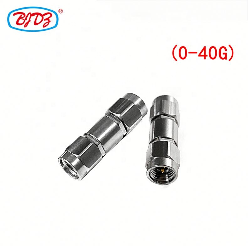 High frequency 2.92mm SMK male to 2.92mm SMK male connector adaptor