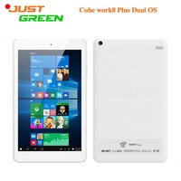 "Fashion! Cube work8 Plus/iWork8 Ultimate Dual OS UMPC 8"" 1280*800 Intel Quad Core 2GB 32GB android 5.1 Win10 2.0MP BT"