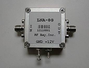 1000-8000MHz Low Noise Amplifier, LNA-8G, New, SMA