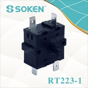 Soken 2 3 4 5 6 7 8 9 10 11 12 Position Rotary Switch/electric heater switch 16A 250VAC T100