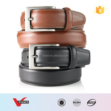 Custom Genuine Leather cow hide leather Belt for men