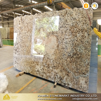 Stonemark Delicatus Gold Granite Slab For Kitchen Countertops View