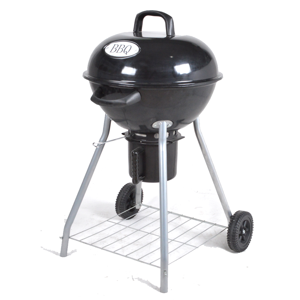 Outdoor Charcoal Bbq Grill Round Shape Grill Kettle ...
