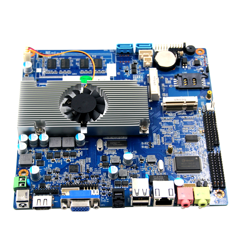 TOP2550 pico itx 2 lan motherboard for Network
