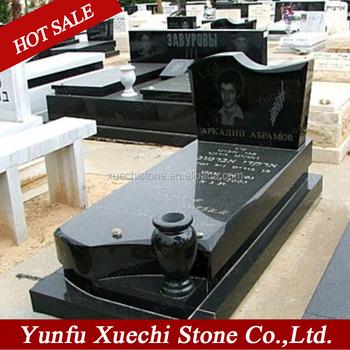 묘지 비석 가격 좋은 품질의 검은 화강암 - Buy Product on Alibaba.com