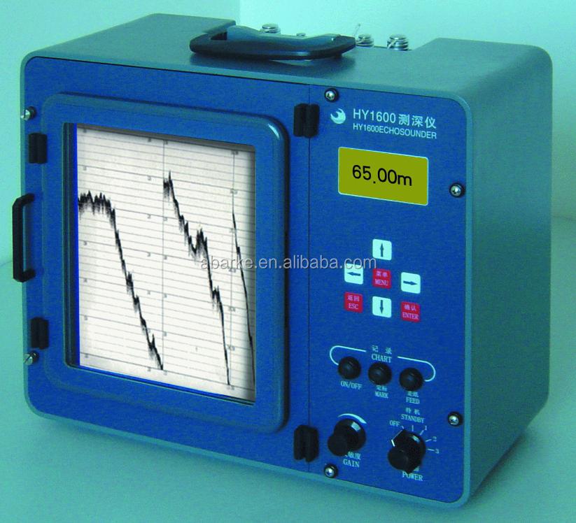 Echo Sounder For Shallow Water Depth Measurement Portable Echo ...