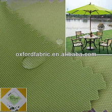 UV protection green color patio umbrella fabric tent fabric lightweight