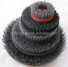 fickert / round stone abrasive polishing brush