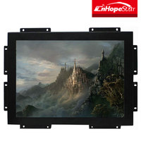 open frame 19inch touch screen monitor with usb vga inputs