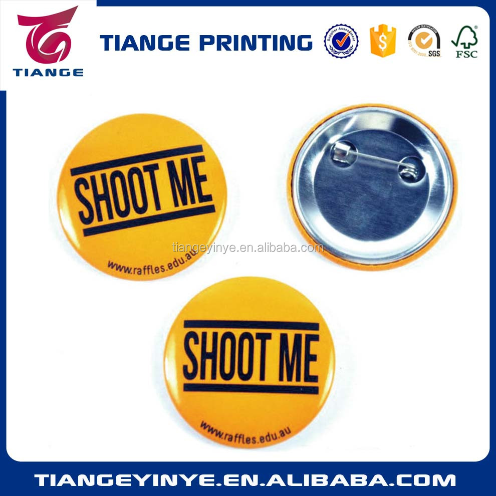 Free shipping gifts Made in China cheap custom pin badge round button pin badge adding any <strong>logo</strong>