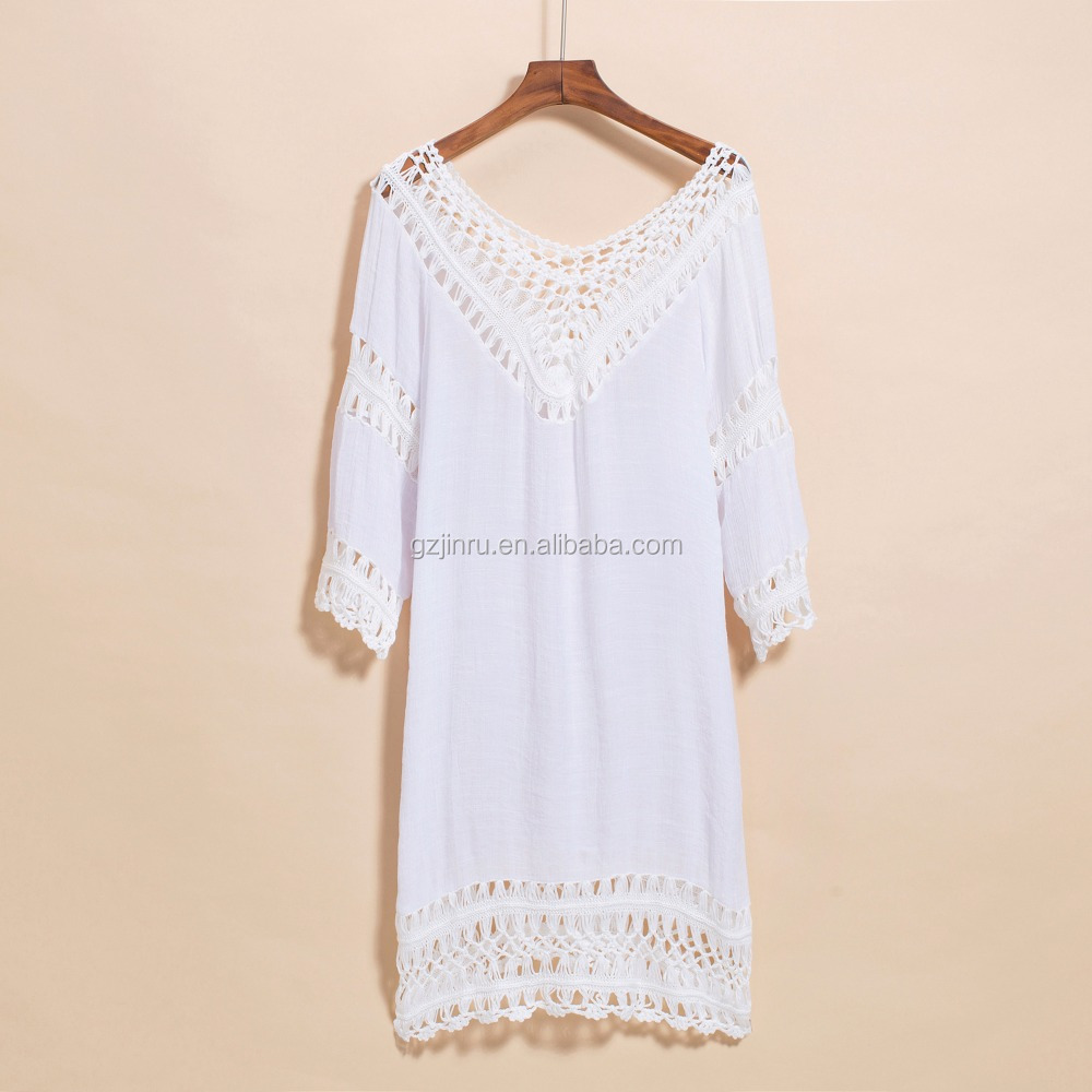 A1108 Casual dress for beach party ladies summer beachwear
