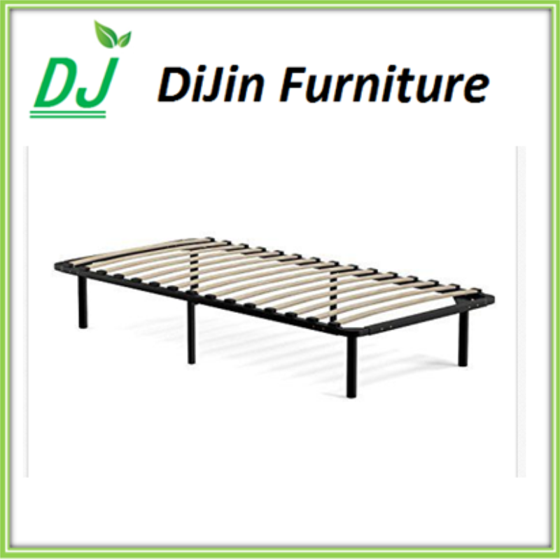Household Furniture Metal Knock Down bed Frame for Single Model