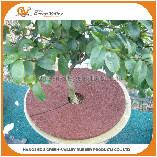 Best Reclaimed Rubber Mulch Ring Matting For Sale