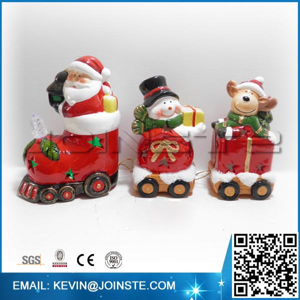 Metal christmas train,electric christmas train,train for christmas tree