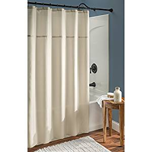 Allen Roth Gold Shimmer Fabric Shower Curtain 0753117