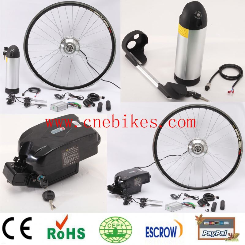 2014 New design !! 1ebike kit with lithium battery