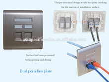 Cheap Telephone face plate electrical outlet faceplates