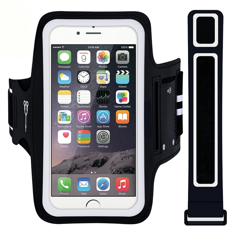 Sport Armband Case Running Pouch Phone Bags Cases For iPhone 5.5 inch and Cell Mobile Phone Arm Band