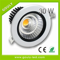 china high quality led recessed ceiling light shower lamp