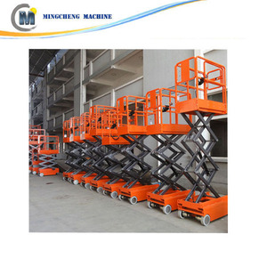 Diesel/electric/gaslione scissor lift 6 Meters battery scissor lift