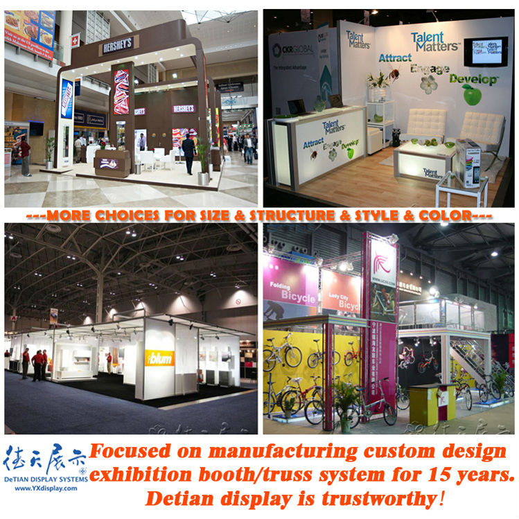 Exhibition Booth System Panel : Aluminum portable outdoor aluminumtrade show display booth