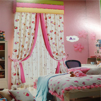 Different style kids door curtains