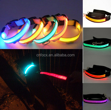 Good design flashing dog collar / led pet collar / Dog Safety light collar