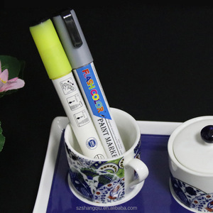 Multicolor Oven Bake Ceramic Mug DIY Markers Paint Pens