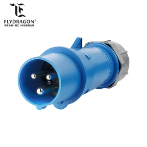 16A 32A IEC60309 3 pin waterproof industrial plug and socket