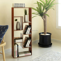 Sauder Multimedia Storage Tower, Cinnamon Cherry,CD Cube Shelf/Wall Shlef