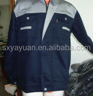 Custom Men's 100%cotton Long sleeve electrician work uniform