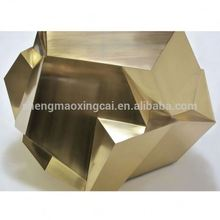 Customized Stainless Steel Side Table with Diamond Shape