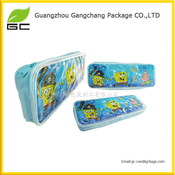 Hot sell excellent quality custom made cheap school pencil case for new semester