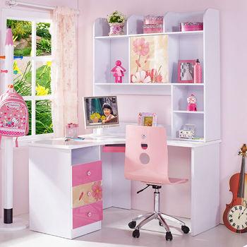 Children Kids Bedroom Corner Computer Desk With Bookshelf - Buy Corner  Computer Desk,Corner Bookshelf,Wooden Computer Desk With Bookshelf Product  on ...