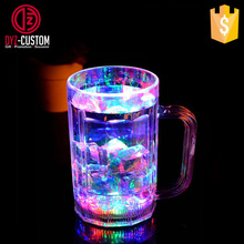 Multicolor chang drinking glasses LED Flashing Beer Beverage Mug