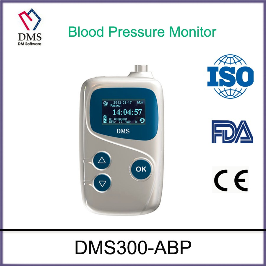 DMS ABPM Ambulatory Blood Pressure Monitor with cuff and software