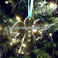 2013 promotion acrylic christmas tree ornaments