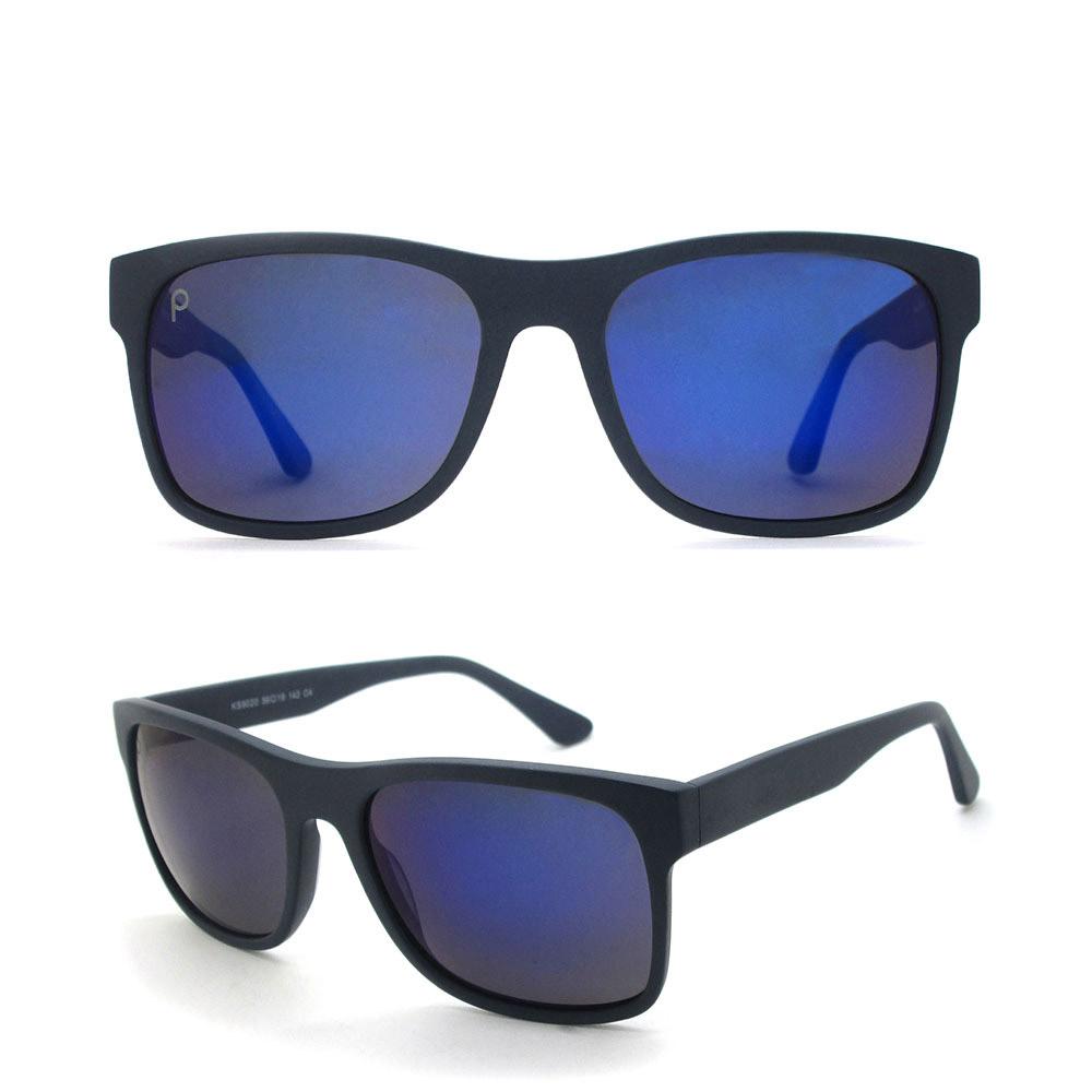 2018 Man Square Matrix CE Polarized Shield Acetate Sunglasses Sun Glasses Lentes De Sol for Men