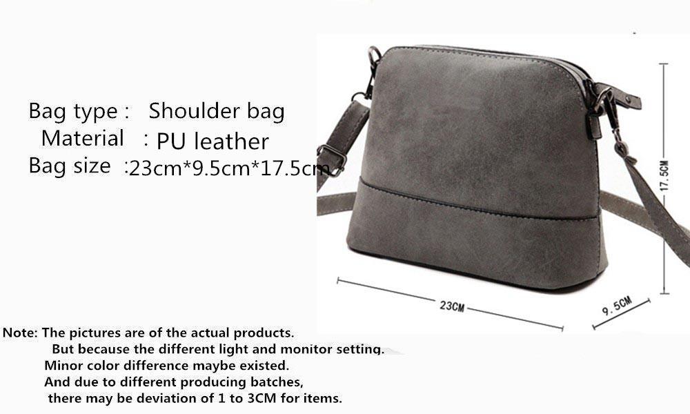 acbc912cbe4d4 2016 Yeni moda kadın messenger çanta fırçalama kabuk çanta Nubuk omuz küçük  bayan çanta üzerinde Deri