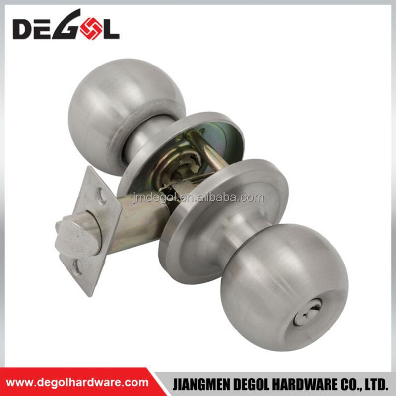 Luxury high security italian design commercial cylindrical door lock knob
