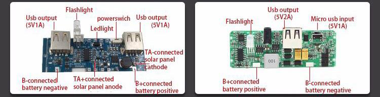 Ad alta Potenza di Alimentazione 10000 mah Mobile Portatile Powerbank PCBA per il Telefono Astuto