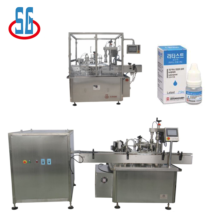 SGDYJ Eyedrop Automatic Bottle Washing Filling Capping Machine