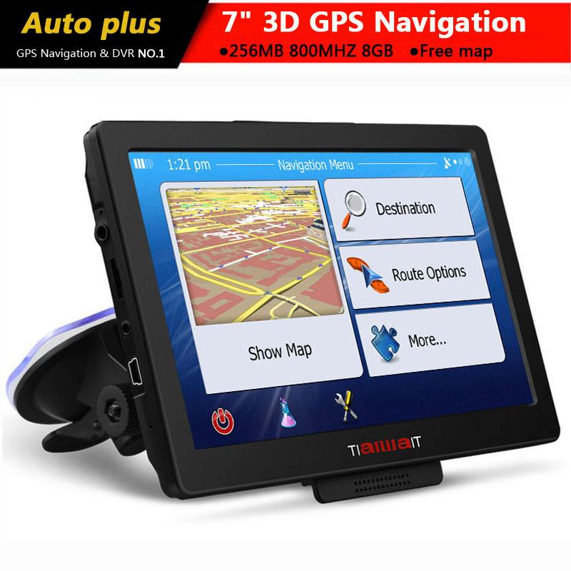 new 7 inch hd car gps navigation windows ce 6 0 fm 8gb. Black Bedroom Furniture Sets. Home Design Ideas
