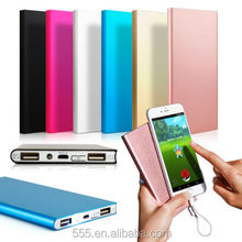 Ultrathin 15000mAh Portable External Battery Charger Power Bank for Cell Phone Shenzhen Factory