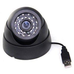 H.264 Conch Recorder DVR Infrared Security Camera With SD/TF Card Slot
