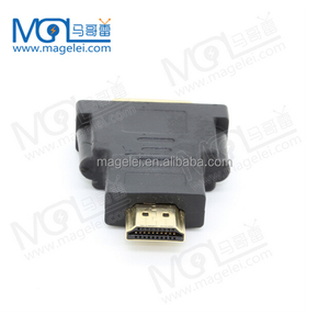 1080P DVI 24+5 to HDMI Converter HDMI to DVI Adapter Connector for HDTV LCD Computer Projector