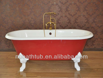 Antique Cast Iron Bathtub  Koller Style Bath Tub Colorized Freestanding Cast Iron Bathtub Style Bath Tub Colorized