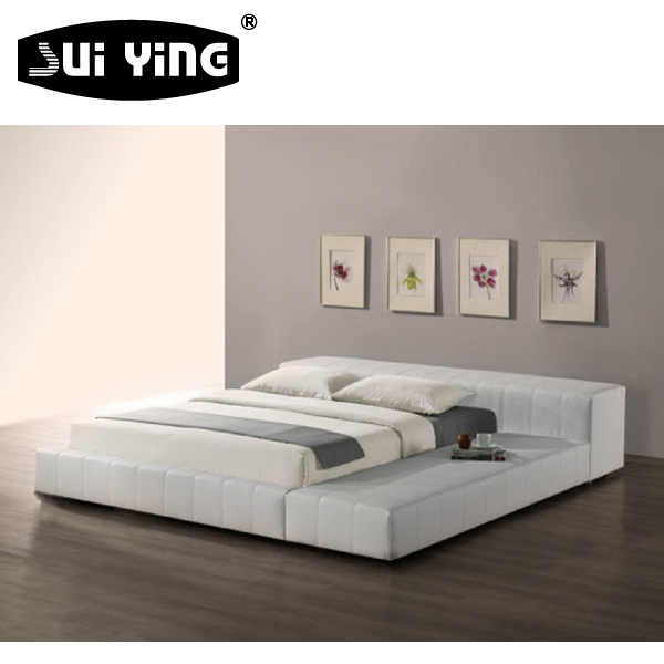 nice design modern leather wall bed A080