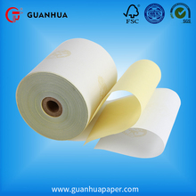 High quality yellow ncr/carbonated paper